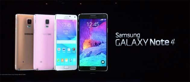 Samsung Galaxy Note 4: video Anteprima Hands On