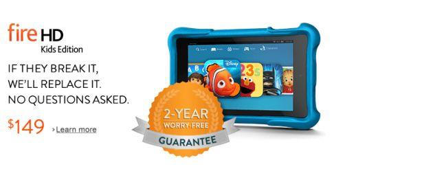 Amazon: Nuovo Amazon Fire HD Kids Edition, tablet a prova di bambino
