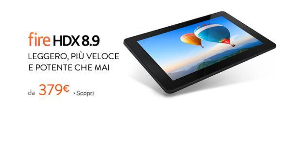 Amazon: Nuovo Amazon Fire HDX 8.9