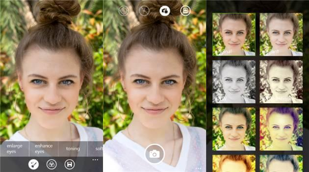 Lumia Selfie, nuova app esclusiva per Windows Phone Lumia