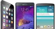iPhone 6 Plus vs Galaxy Note 4 vs LG G3: specifiche a Confronto