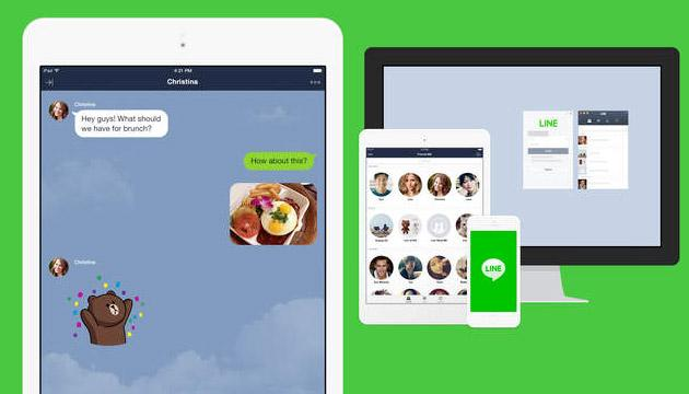 Line per iPad disponibile su App Store
