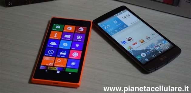 Nokia Lumia 735 vs LG G3S, il nostro video confronto