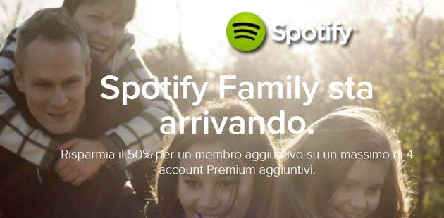 how to add an account to spotify family