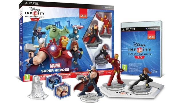 Disney Infinity 2.0 Marvel Super Heroes anche su SmartPhone e Tablet