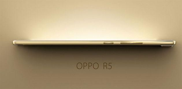 Oppo presenta R5: Octa Core, Full HD e spessore record di 4,85 mm