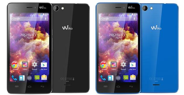 Wiko annuncia Highway Signs, Android DualSIM da 4,7 pollici
