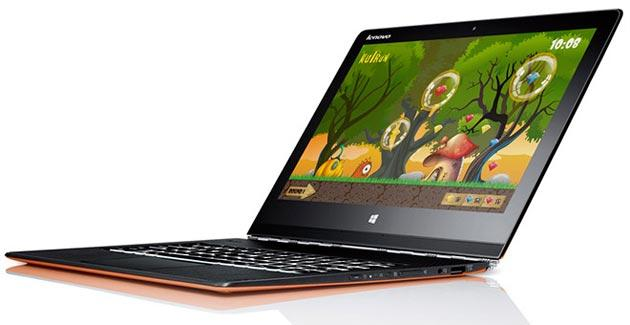Lenovo Yoga 3 Pro, notebook QHDPlus da 13 pollici con chip Intel Broadwell