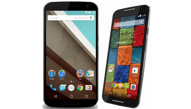 Google Nexus 6 vs Motorola Moto X 2014, caratteristiche ...