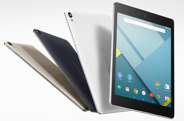 Google Nexus 9, Apple iPad Air 2 confronto completo