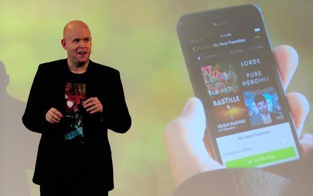 Spotify CEO: paghiamo 6 milioni l'anno ad un artista top come Taylor Swift