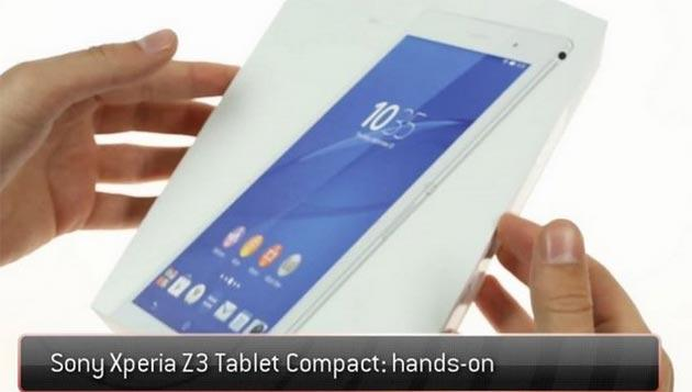 Sony Xperia Z3 Tablet: video unboxing e prime impressioni