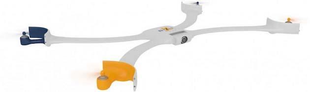 Nixie, il drone con fotocamera che si indossa al polso