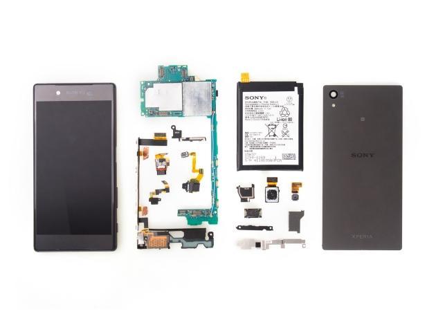 Sony Xperia Z5 smontato da iFixit