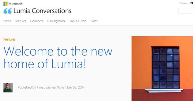 Microsoft cambia Nokia Conversations in Lumia Conversations