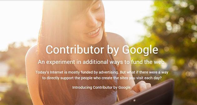 Google Contributor, siti web senza pubblicita' se paghiamo