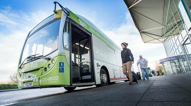 Bio-Bus, il primo pullman alimentato da escrementi