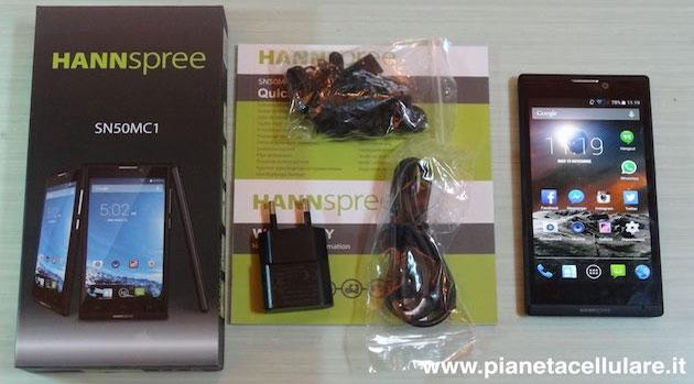 Hannspree Smartphone Dual Sim Android 4.4, il nostro unboxing