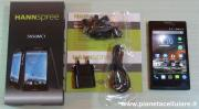 Foto Hannspree Smartphone Dual Sim Android 4.4, il nostro unboxing