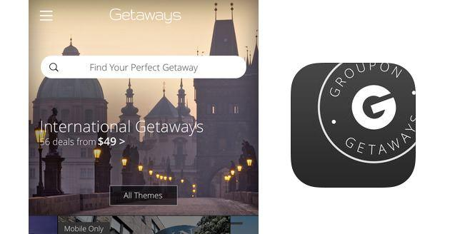 Groupon lancia Getaways: pacchetti Viaggio Scontati su Android e iOS