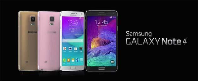 Samsung Galaxy Note 4 con chip Exynos ha fotocamera ISOCELL