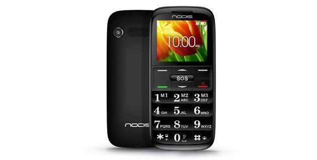 Nodis SN-07, cellulare ultra-slim Dual-Sim con pulsante SOS