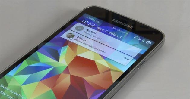Galaxy S5, prima ROM Android 5.0 Lollipop trapelata negli USA