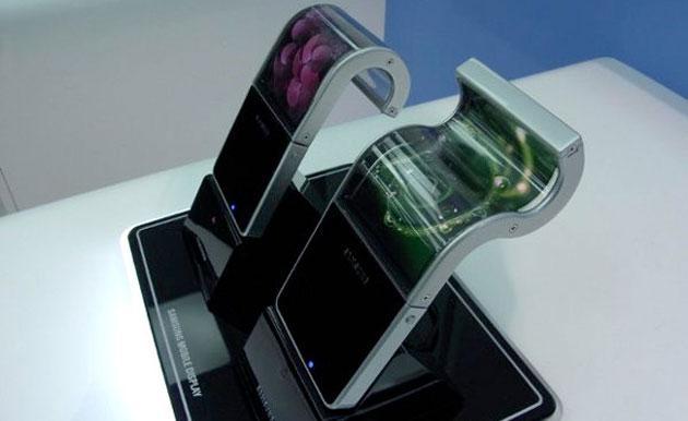 Samsung: smartphone con  display pieghevole nel 2015