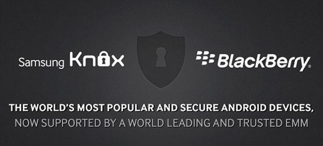 Samsung e Blackberry annunciano partership strategica