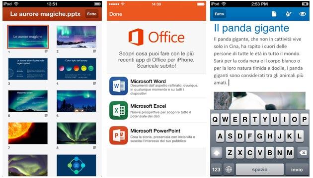 Microsoft Word per iOS la seconda app gratuita piu' scaricata da App Store