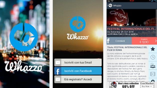 Whazzo, Roma a portata di app