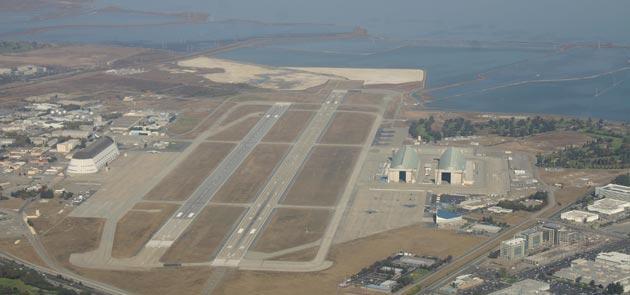 Google affitta storico campo di volo dalla NASA