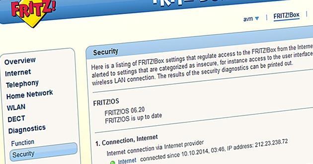 AVM rilascia il nuovo firmware FRITZ OS 6.20 con 99 novita'