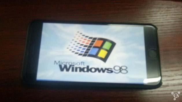 iPhone 6, installare Windows 98 e' possibile