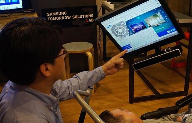 Samsung EyeCan2, mouse per disabili che segue il movimento degli occhi