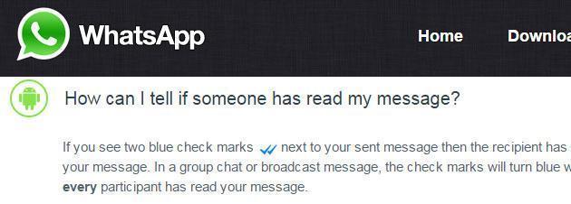 Whatsapp, la notifica di lettura diventa Facoltativa su Android