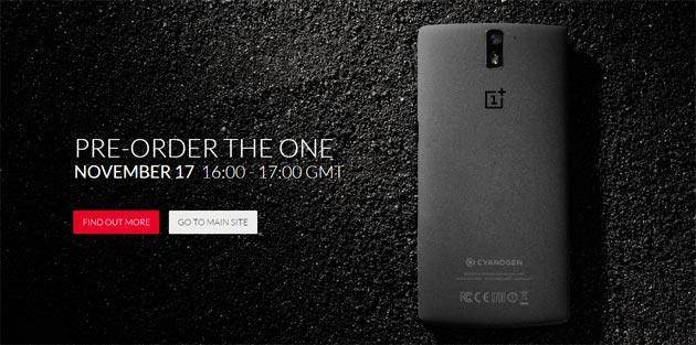 OnePlus One: oggi 17 Novembre nuova Vendita Flash