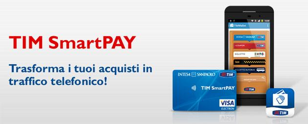 TIM SmartPAY, costi e come si usa la carta prepagata di TIM