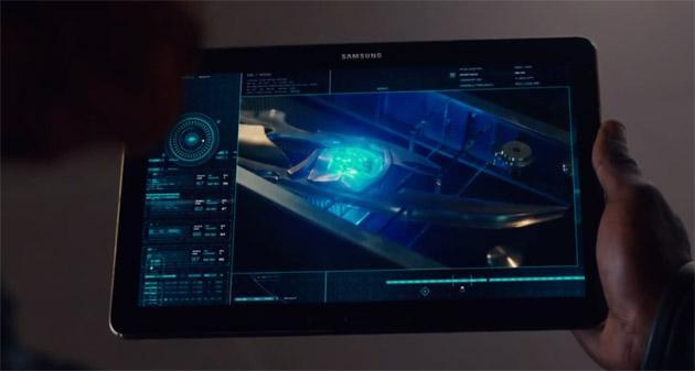 Samsung nel nuovo trailer del film Avengers 2