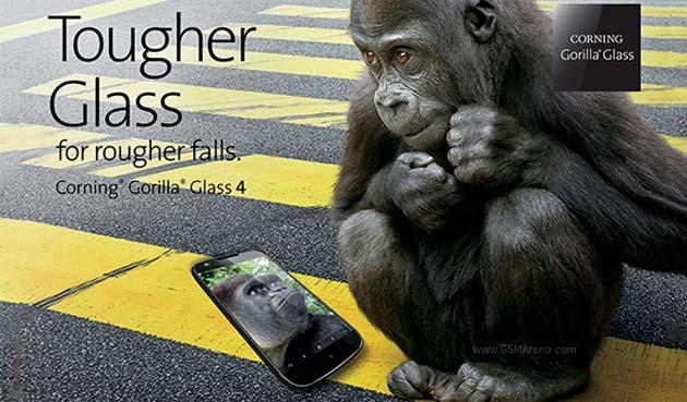 Corning annuncia Gorilla Glass 4, dal 2015 sugli smartphone