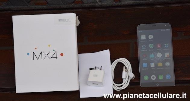 Meizu MX4: il nostro unboxing e prime impressioni