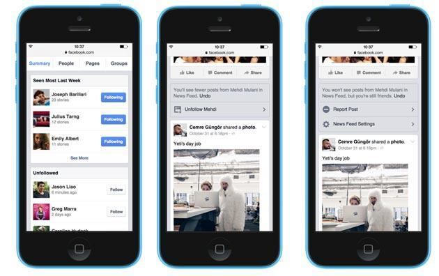 Facebook, nuovi modi per controllare cosa vediamo in News Feed