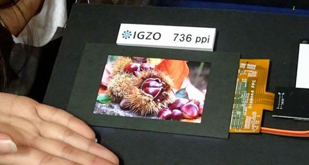 Sharp svela il Display LCD IGZO da 5.5 pollici con 806 PPI