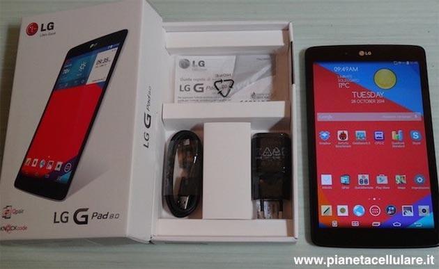 LG G Pad 8.0 la nostra video recensione completa