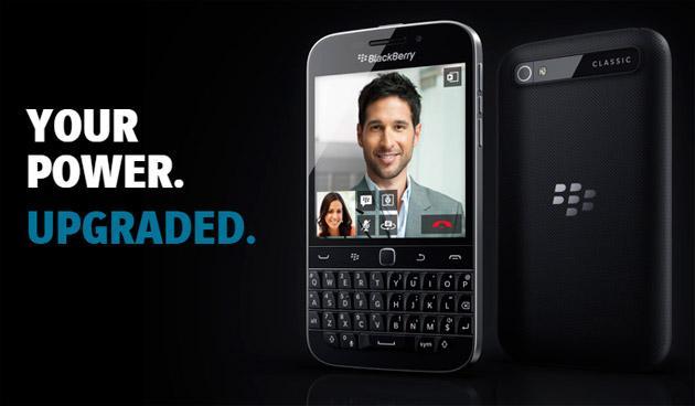 Blackberry Classic si veste di Bianco e Oro