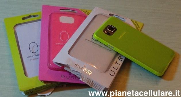 Recensione cover 0.3 slim TPU Samsung Galaxy Alpha by Puro