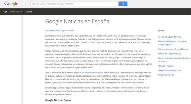 Google News chiude in Spagna, niente trattativa con editori
