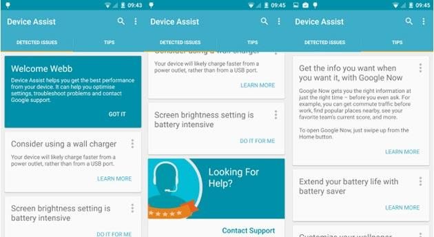 Google Cavalry Support, nuova app di Assistenza per dispositivi Android