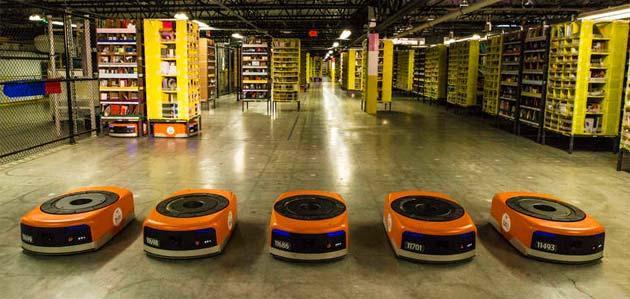 Amazon Picking Challenge, Robot da magazzino in sfida