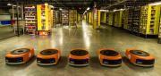 Foto Amazon Picking Challenge, Robot da magazzino in sfida